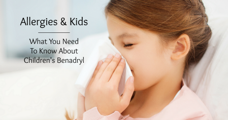 Is Benadryl the right medicine for your kid? Information about over-the-counter allergy medicine, including a children's Benadryl dosage chart.