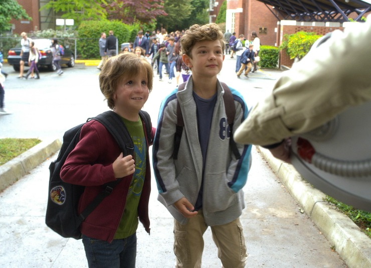 Wonder Movie | Auggie Pullman and Jack WIll